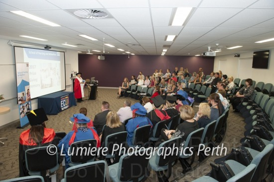 ECU - School of  Nursing & Midwifery Prize Giving 2017